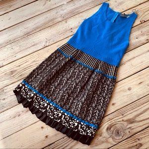 Anthro Girl From Savoy Knit Work Dress Sz M